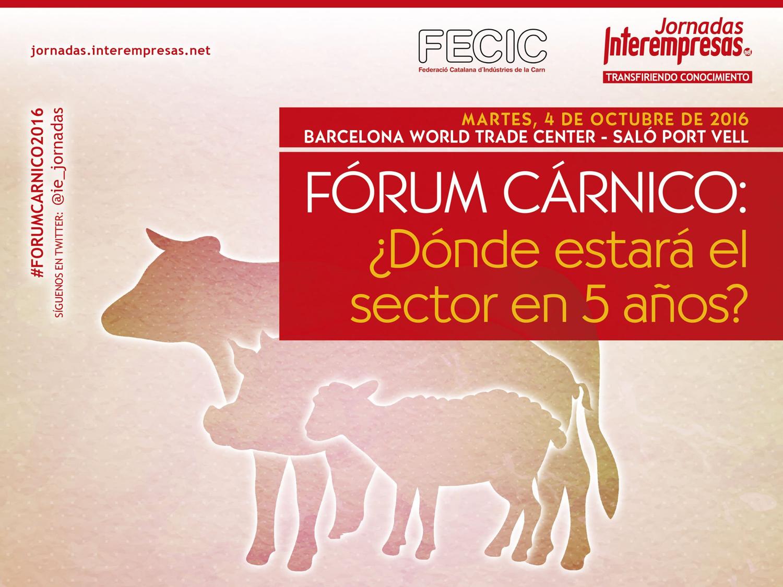Alonso & Asociados panelista en el I Fórum Cárnico