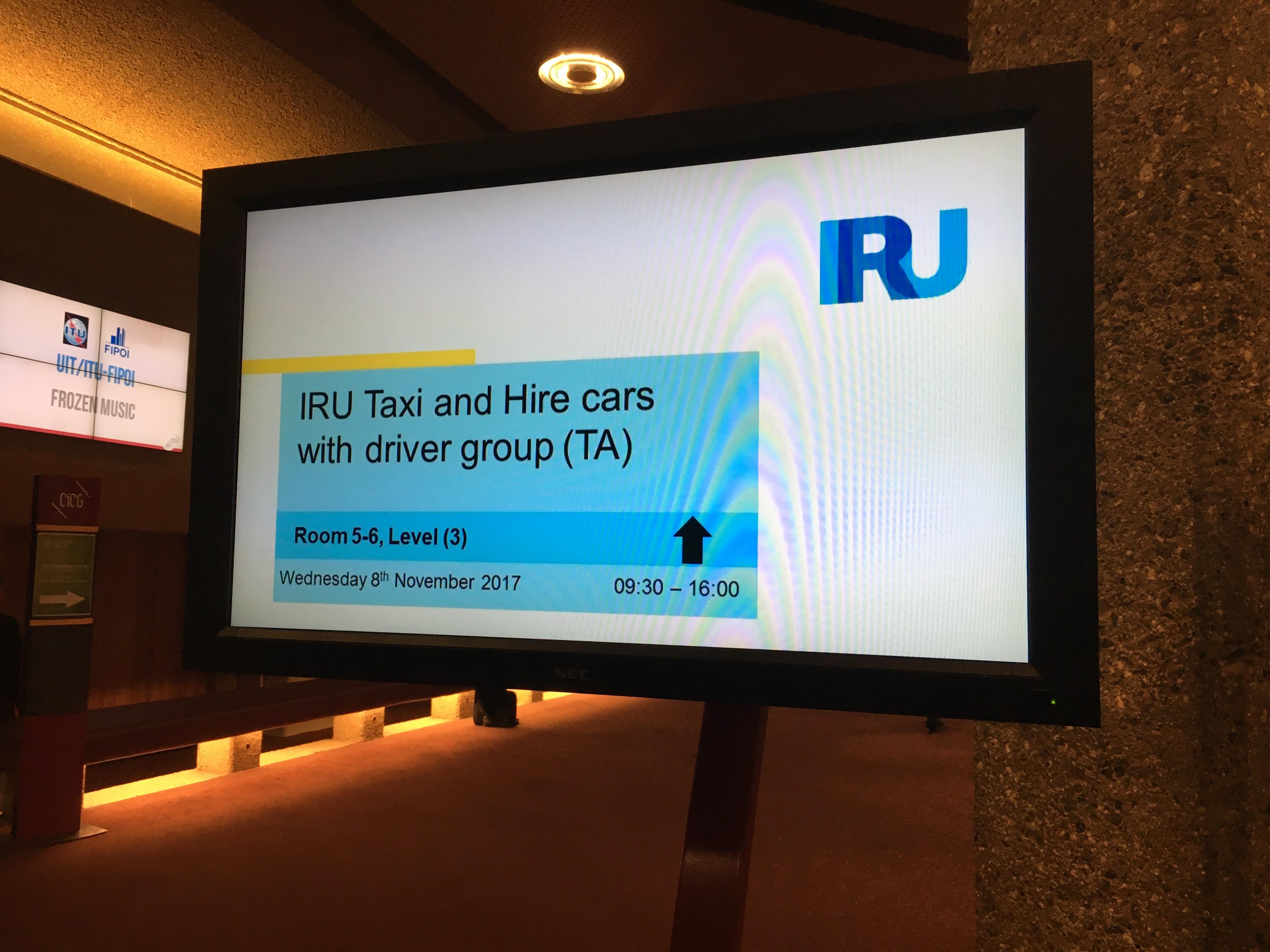 Grupo del Taxi de IRU